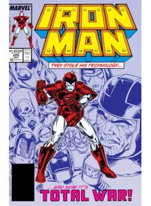 Комикс 1987-12 Iron Man 225