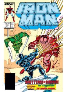 Комикс 1988-04 Iron Man 229