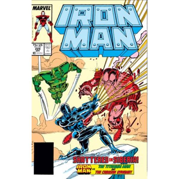 Комикс 1988-04 Iron Man 229 1