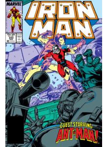 Комикс 1988-08 Iron Man 233