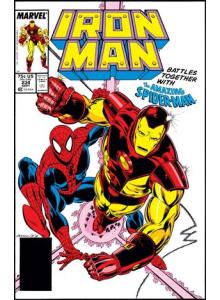 Комикс 1988-09 Iron Man 234