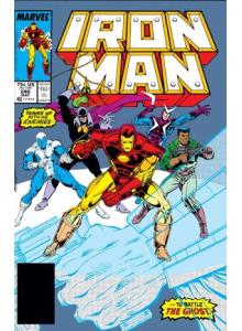 Комикс 1989-03 Iron Man 240