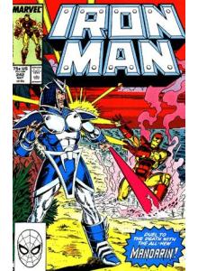 Комикс 1989-05 Iron Man 242