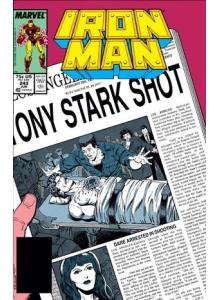 Комикс 1989-06 Iron Man 243