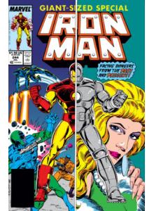 Комикс 1989-07 Iron Man 244