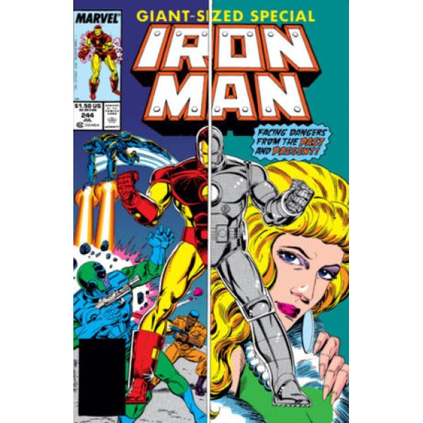 Комикс 1989-07 Iron Man 244 1