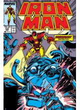 Комикс 1989-08 Iron Man 245