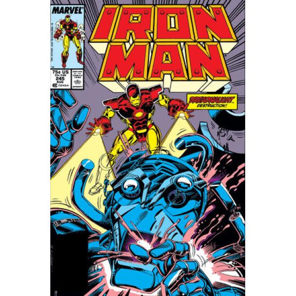 Комикс 1989-08 Iron Man 245 1