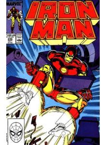 Comics 1989-09 Iron Man 246