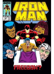 Комикс 1989-11 Iron Man 248