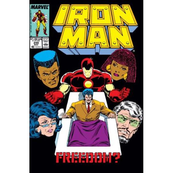 Комикс 1989-11 Iron Man 248 1