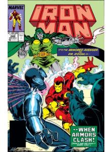 Comics 1989-11 Iron Man 249