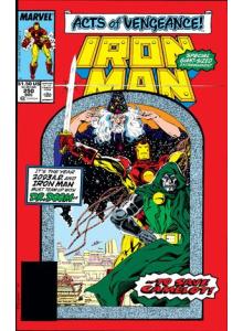 Комикс 1989-12 Iron Man 250