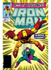 Комикс 1989-12 Iron Man 251