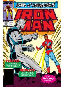 Comics 1990-01 Iron Man 252