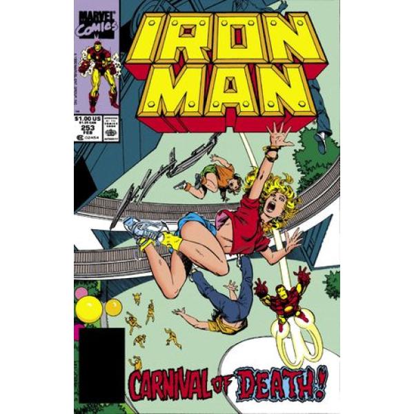Комикс 1990-02 Iron Man 253 1