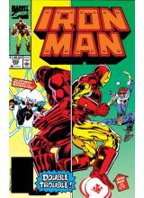 Комикс 1990-04 Iron Man 255