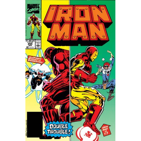 Комикс 1990-04 Iron Man 255 1