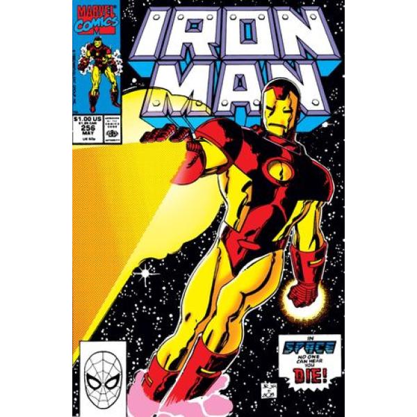 Комикс 1990-05 Iron Man 256 1