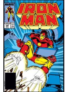 Комикс 1990-06 Iron Man 257