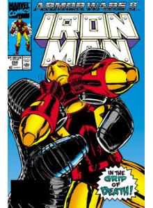Комикс 1990-07 Iron Man 258