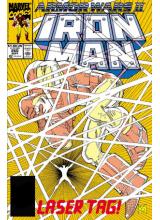 Комикс 1990-09 Iron Man 260