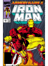 Комикс 1990-10 Iron Man 261