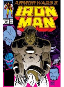 Комикс 1990-11 Iron Man 262
