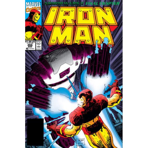 Комикс 1991-03 Iron Man 266 1