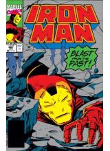 Комикс 1991-04 Iron Man 267
