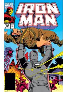 Комикс 1991-05 Iron Man 268