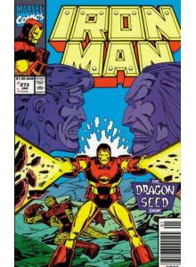 Комикс 1991-10 Iron Man 273