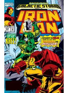 Комикс 1992-04 Iron Man 279