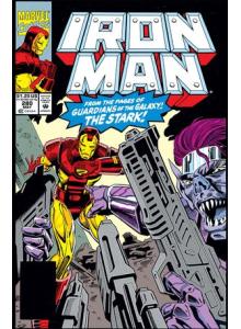 Комикс 1992-05 Iron Man 280