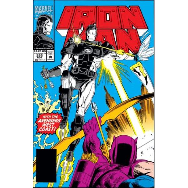 Комикс 1992-11 Iron Man 286 1