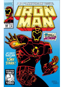 Комикс 1993-03 Iron Man 290