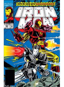 Комикс 1993-04 Iron Man 291
