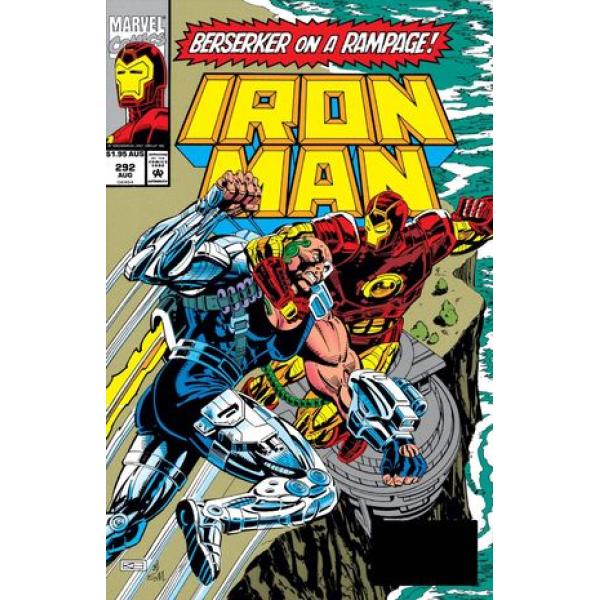 Комикс 1993-05 Iron Man 292 1