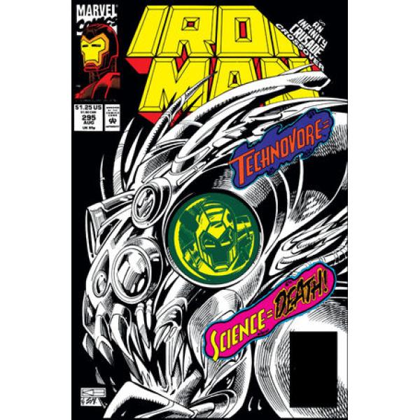 Комикс 1993-08 Iron Man 295 1