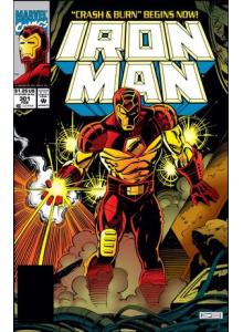 Комикс 1994-02 Iron Man 301