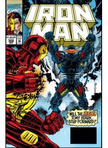 Комикс 1994-09 Iron Man 308