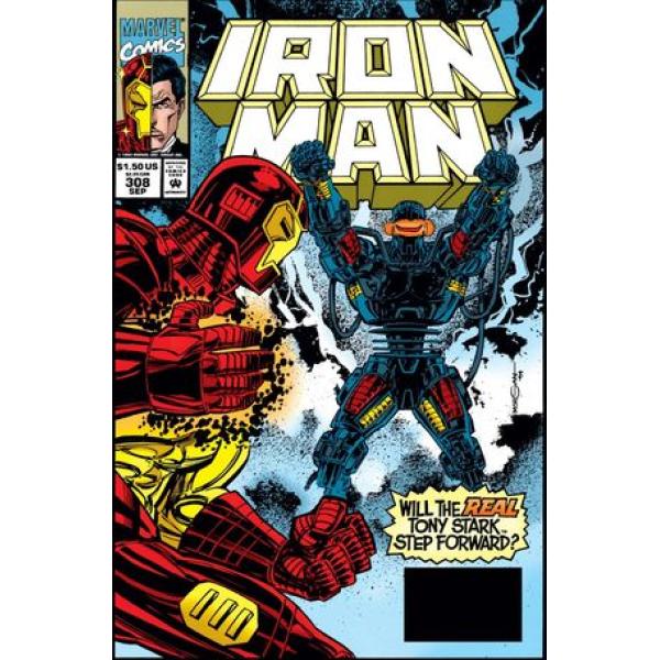 Комикс 1994-09 Iron Man 308 1