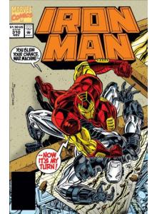 Комикс 1994-11 Iron Man 310