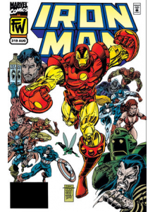 Комикс 1995-08 Iron Man 319