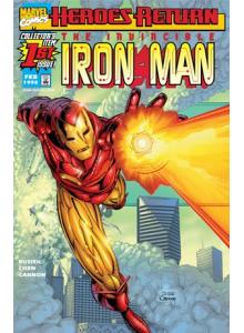 Комикс 1998-02 Iron Man 1