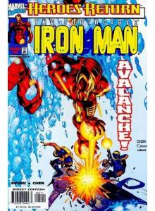 Comics 1998-03 Iron Man 2 Variant Cover
