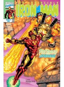 Комикс 1998-05 Iron Man 4