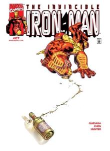 Комикс 2000-04 Iron Man 27