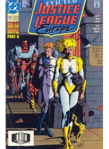 Комикс 1991-10 Justice League Europe 31
