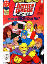 Комикс 1991 Justice League Europe 2 Annual